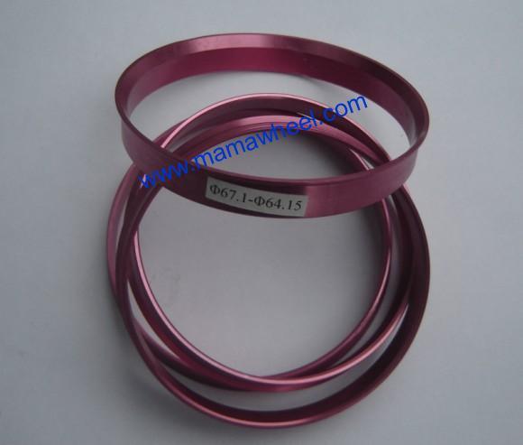aluminum alloy hub centric rings