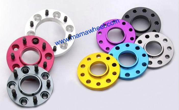 colored wheel spacer adapter